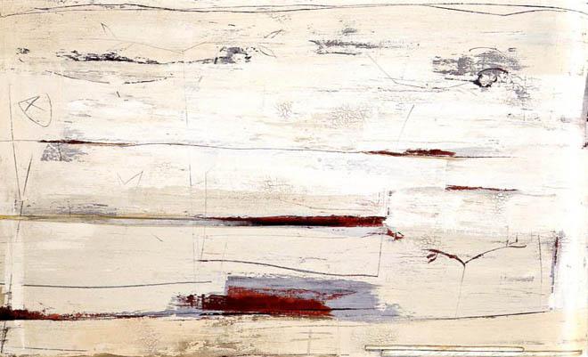 """""""Paesaggio bianco"""" di Marino Iotti"""