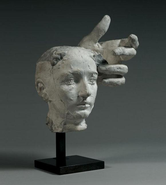 """Masque-Portrait de Camille Claudel"" di August Rodin"