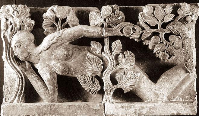 Eve, Autun, cattedrale di Saint Lazare, Francia