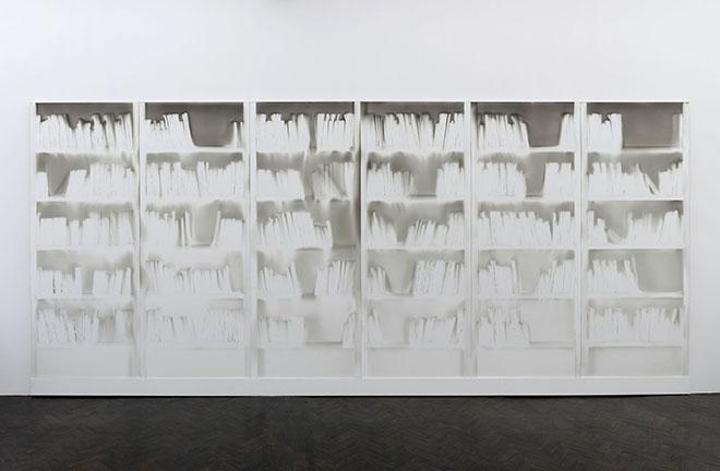 "Claudio Parmiggiani, ""Scultura d'ombra"""