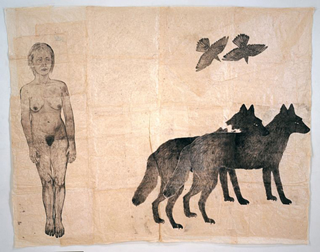 Kiki Smith, St. Genevieve 1999